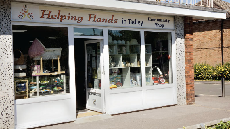 heping hands shopfront